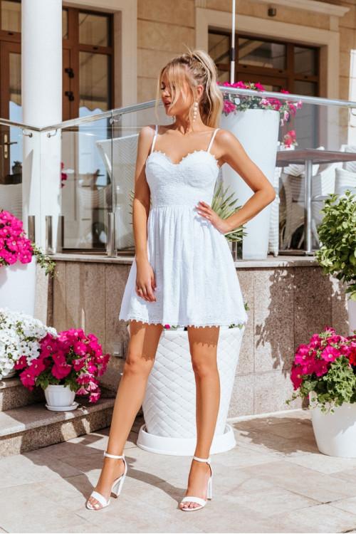 Платье 3518 белый