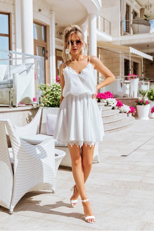 Платье 3418 белый