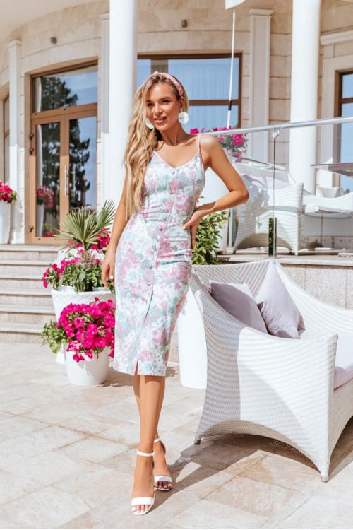 Платье 3521 розовый