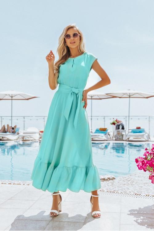 Платье 3282 ментоловое