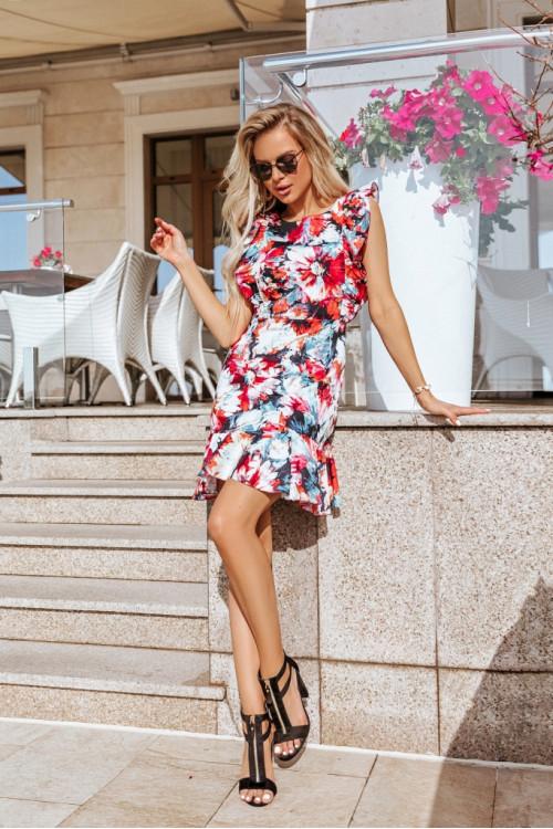 Платье 3515 красный