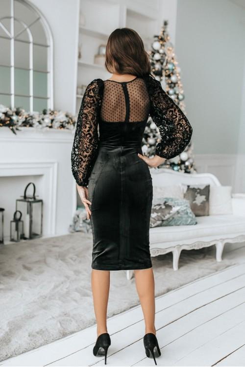 Платье 3485 черный