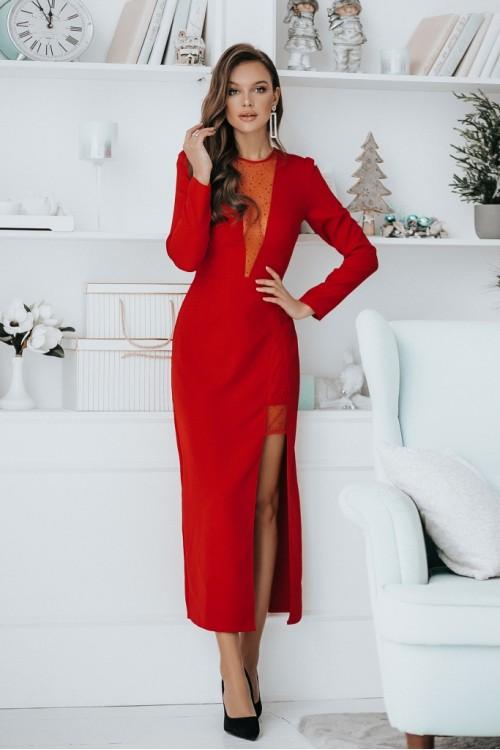 Платье 3479 красный