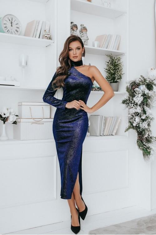 Платье 3487 синий