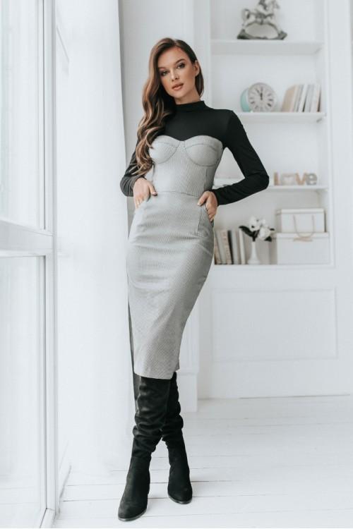 Платье 3480 белый