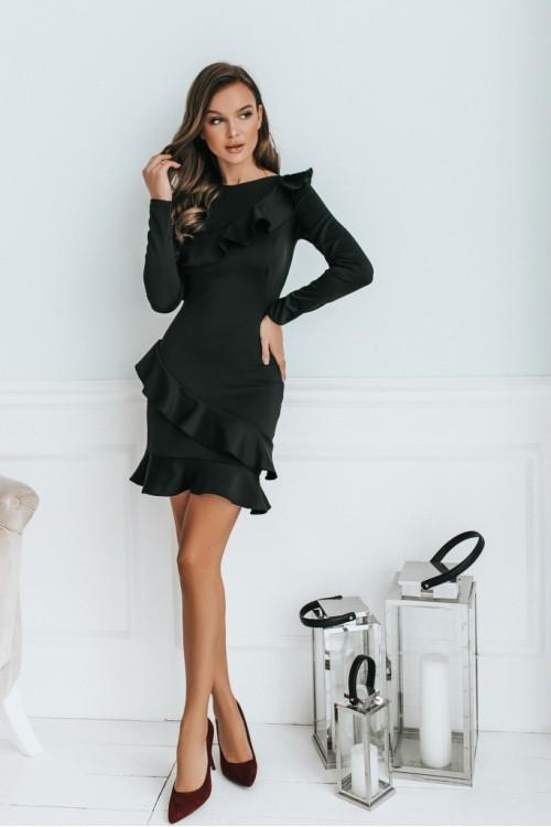 Платье 3481 черный