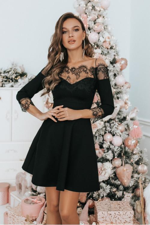 Платье 3478 черный