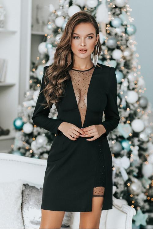 Платье 3477 черный