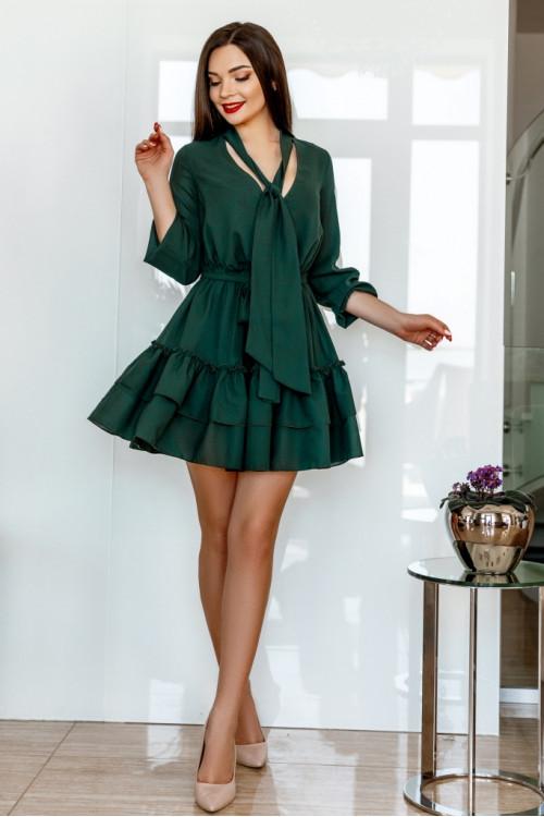 Платье 3457 зеленый