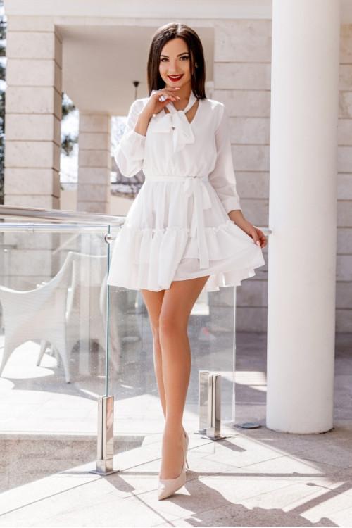 Платье 3457 белый
