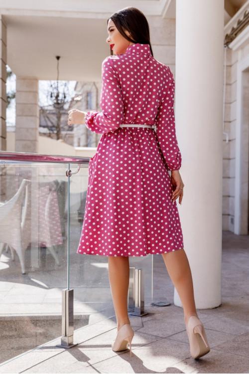 Платье 3455 розовый