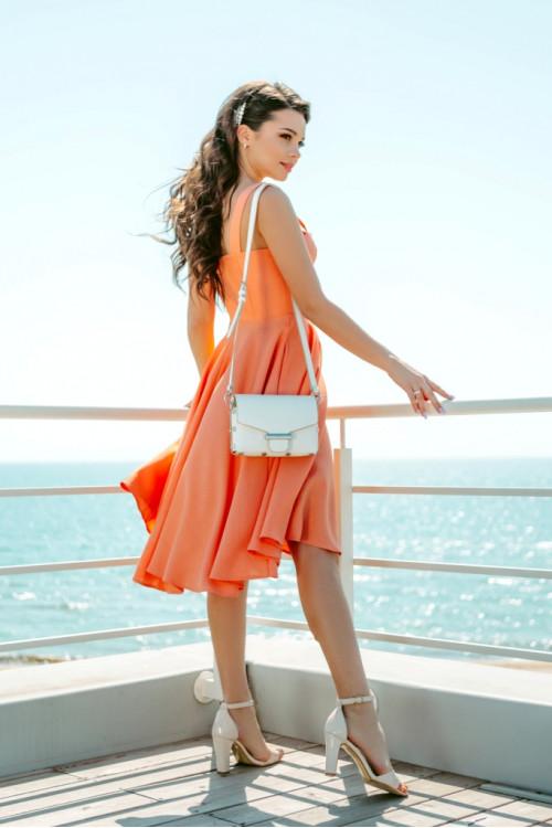 Платье 3460 персик