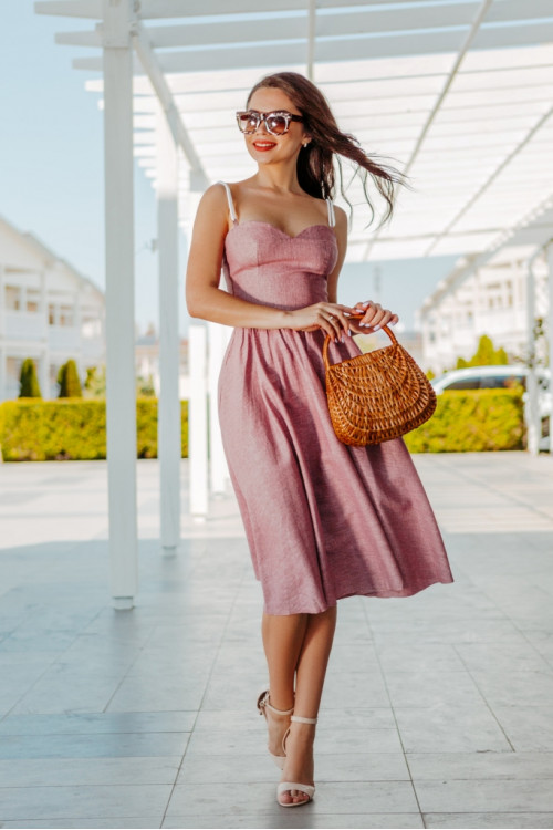 Платье 3427 капучино