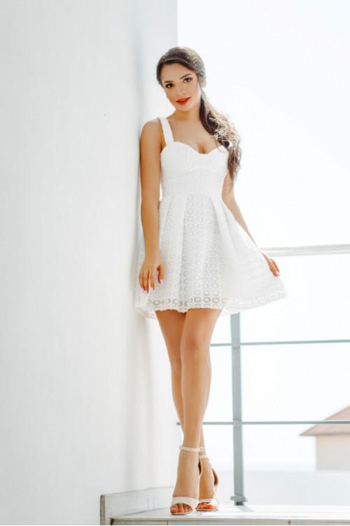 Платье 3459 белый