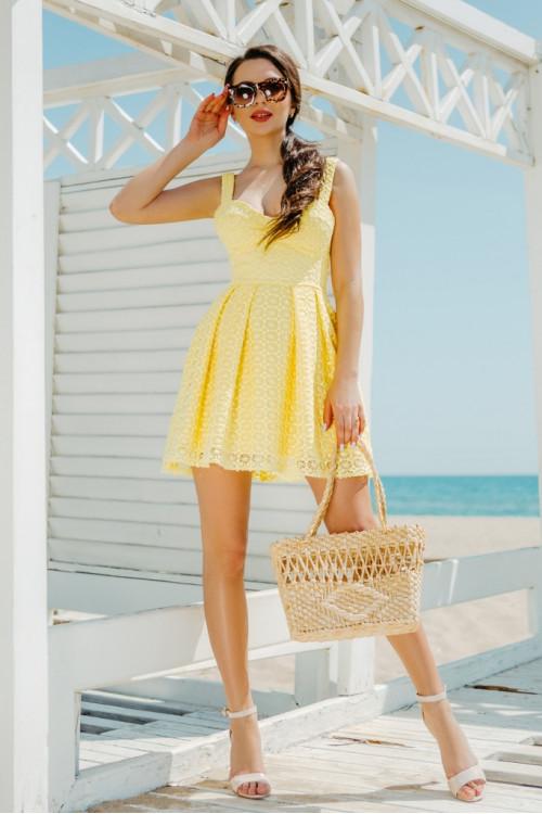 Платье 3459 желтый