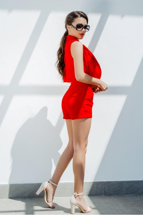Костюм 5033 красный