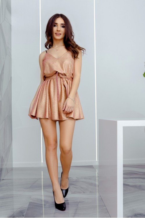 Платье 3440 розовый