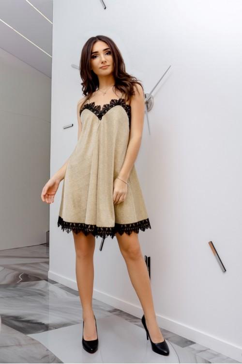Платье 3446 золото