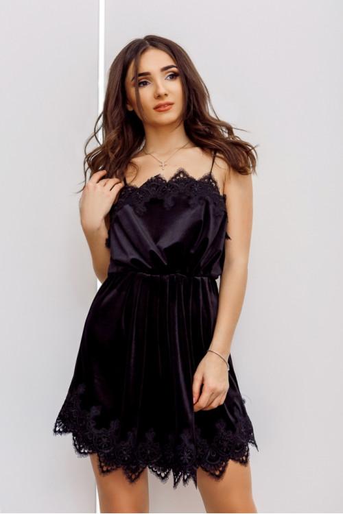 Платье 3445 черный