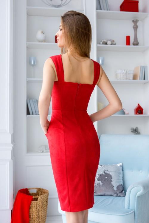 Платье 3433 красный
