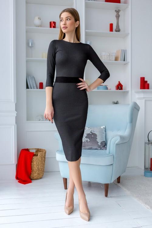 Платье 3438 черный
