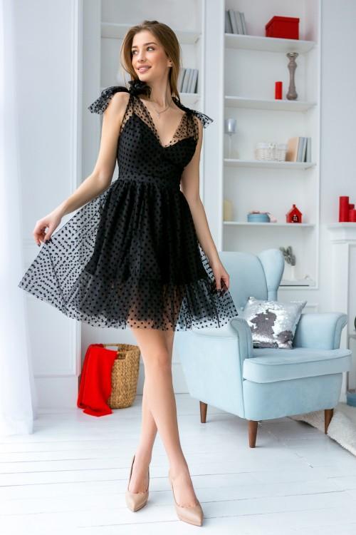 Платье 3420 черный