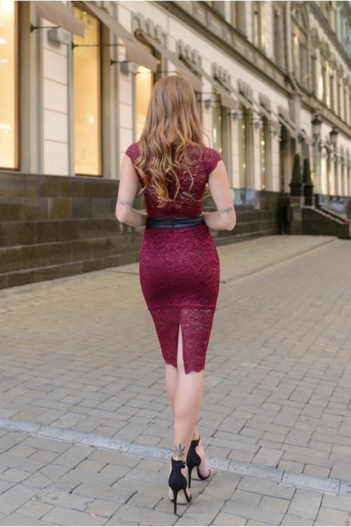 Платье 3389 марсал