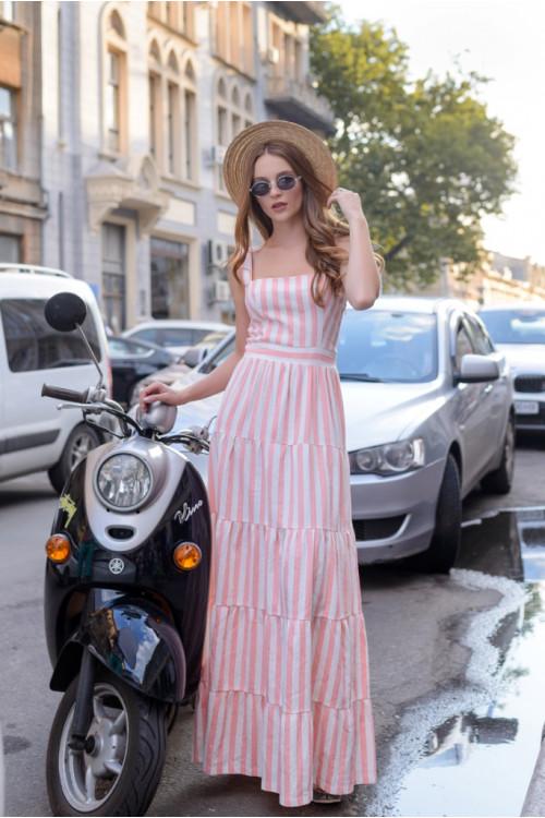 Платье 3379 розовый