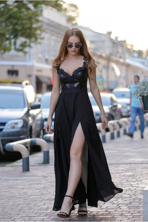 Платье 3398 черный