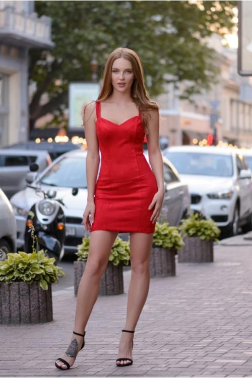 Платье 3408 красный