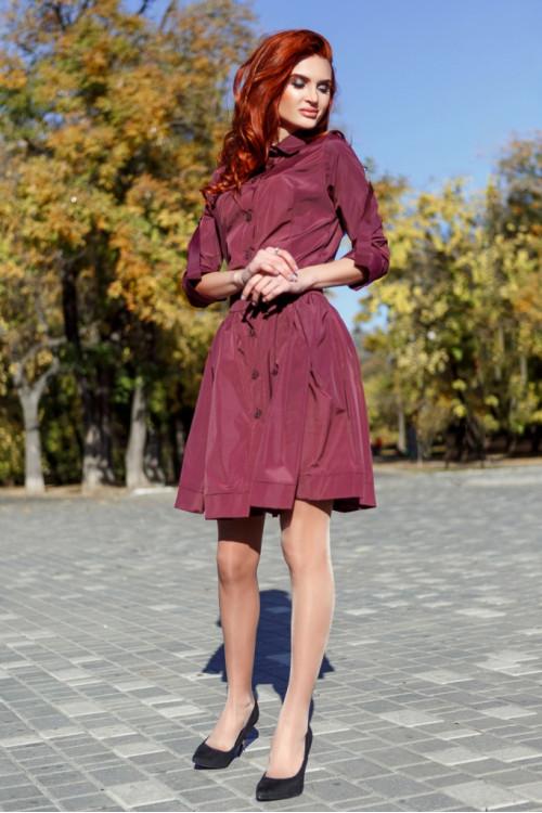 Платье 3356 марсал