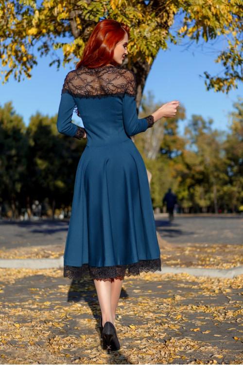 Платье 3349 бирюза