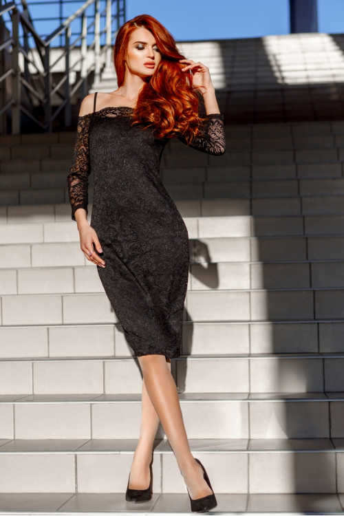 Платье 3327 черный