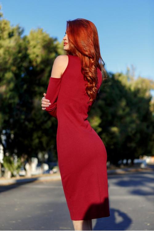 Платье 3387 марсал