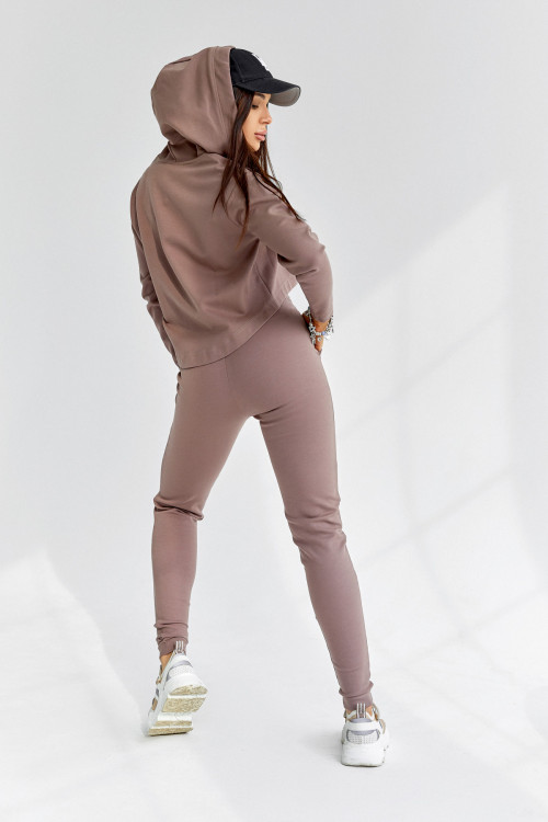 Спортивный костюс 5039 бежевый