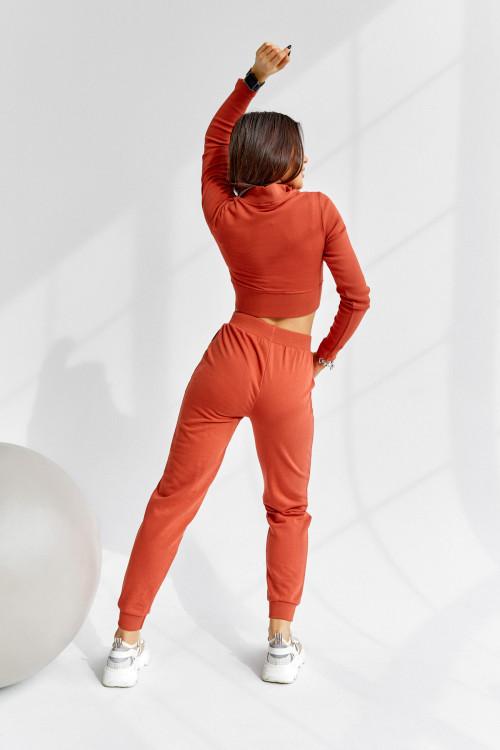 Спортивный костюс 5037 оранжевый
