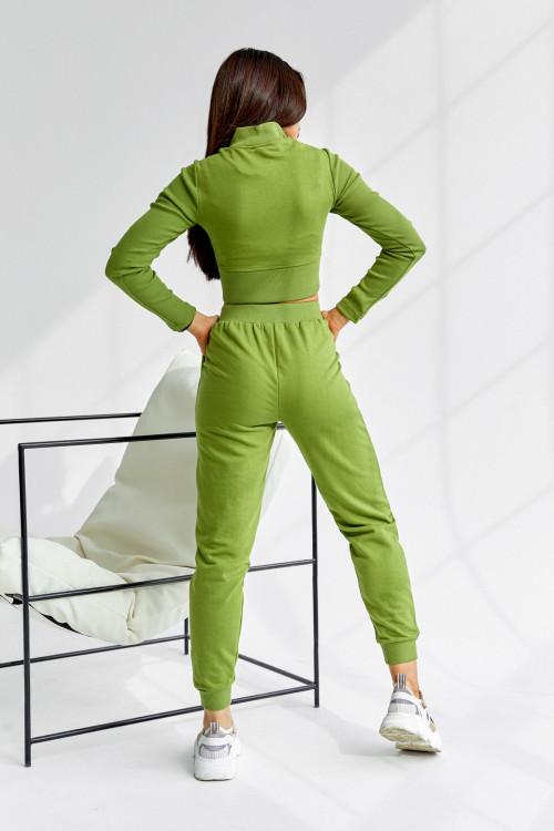 Спортивный костюс 5037 оливковый