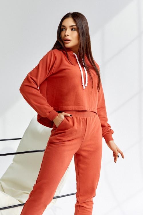 Спортивный костюс 5038 оранжевый