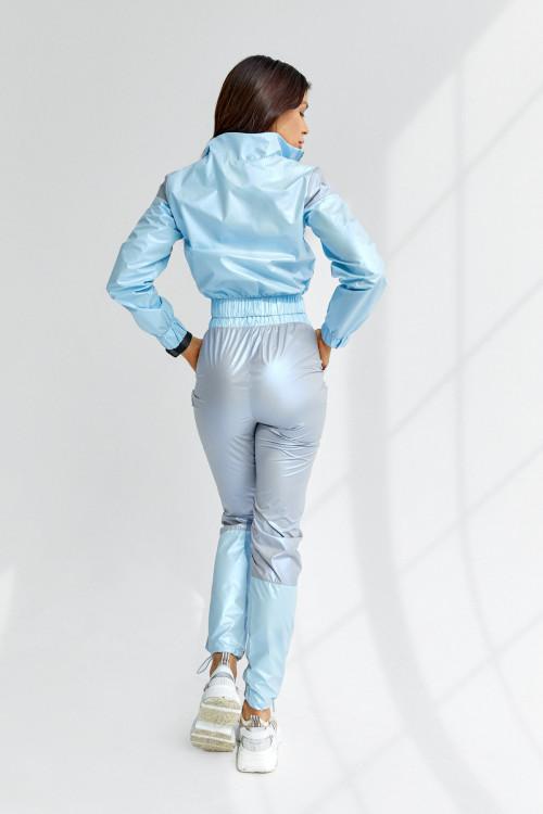 Спортивный костюс 5045 голубой