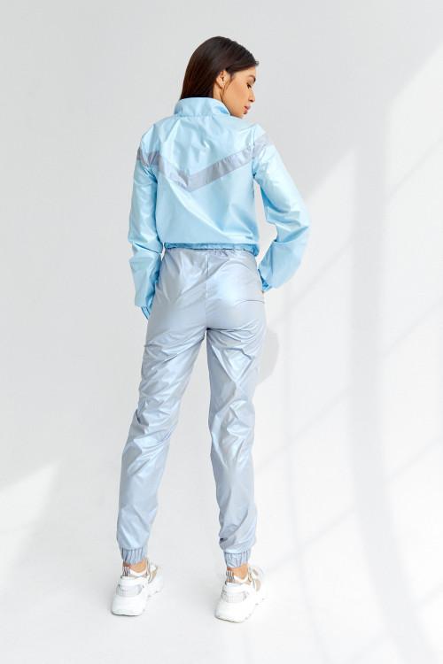 Спортивный костюс 5044 голубой