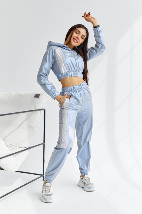 Спортивный костюс 5043 серый