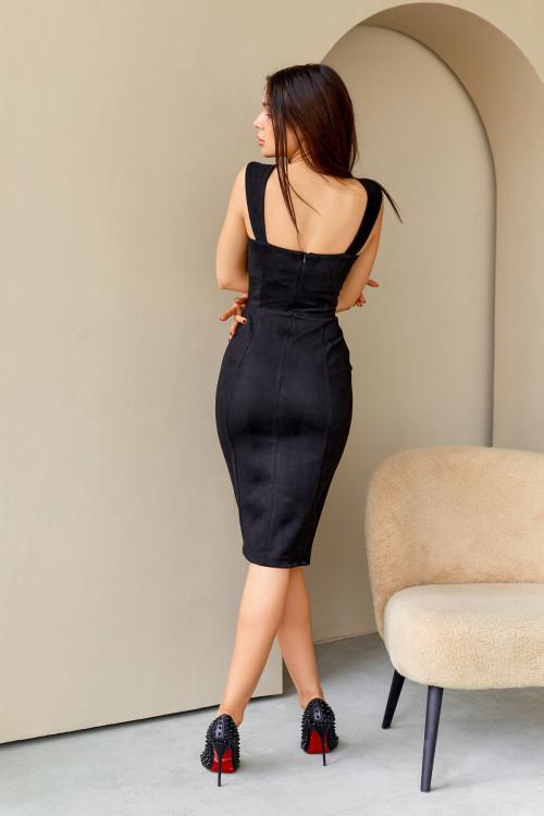 Платье 3433 черный