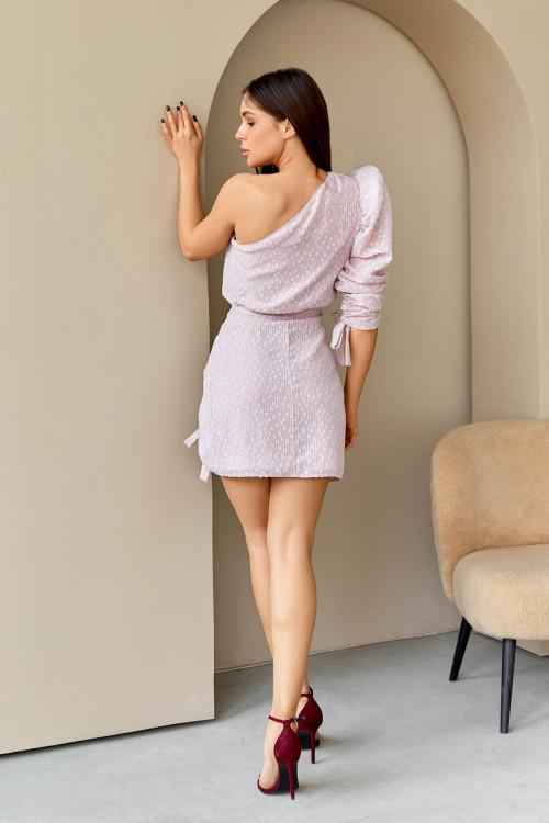 Платье 3555 пудра