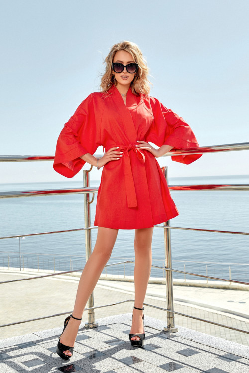 Платье 3560 красный