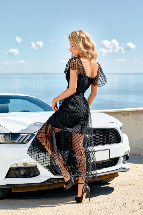Платье 3561 черный