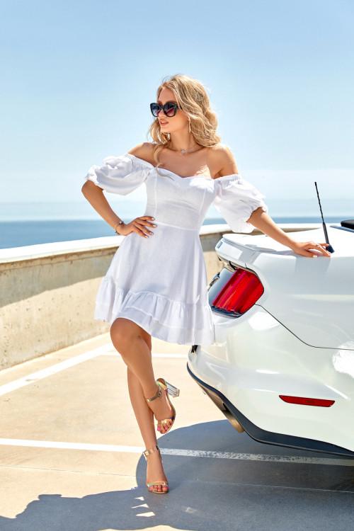 Платье 3553 белый