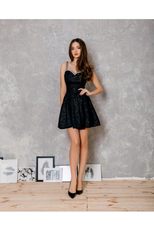 Платье 3449 черный