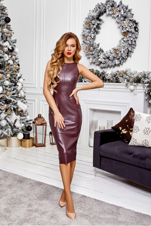 Платье 3490 шоколад