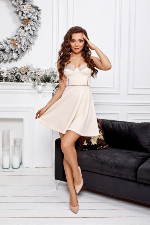 Платье 3492 молочный