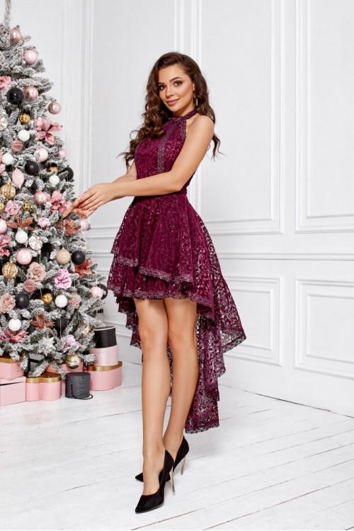 Платье 3474 марсал